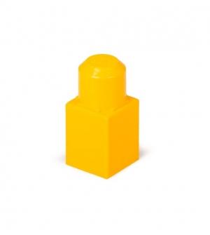 آجره تک دکمه زرد