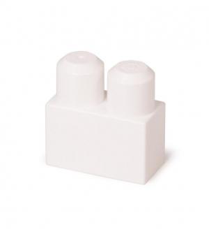 آجره 2 دکمه سفید