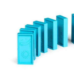 چیدنیها فله آبی روشن - 50 عددی