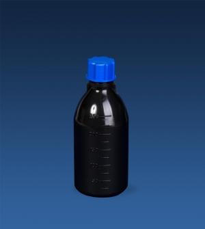 بطری درپیچ دار 250 میلیلیتر مشکی